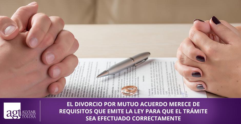 QUE SE NECESITA PARA UN DIVORCIO