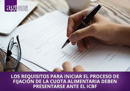 Requisitos para Fijar la Cuota Alimentaria