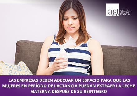 9929febc0 Mujer en periodo de lactancia en el trabajo respaldada por abogados  laborales en Bogotá